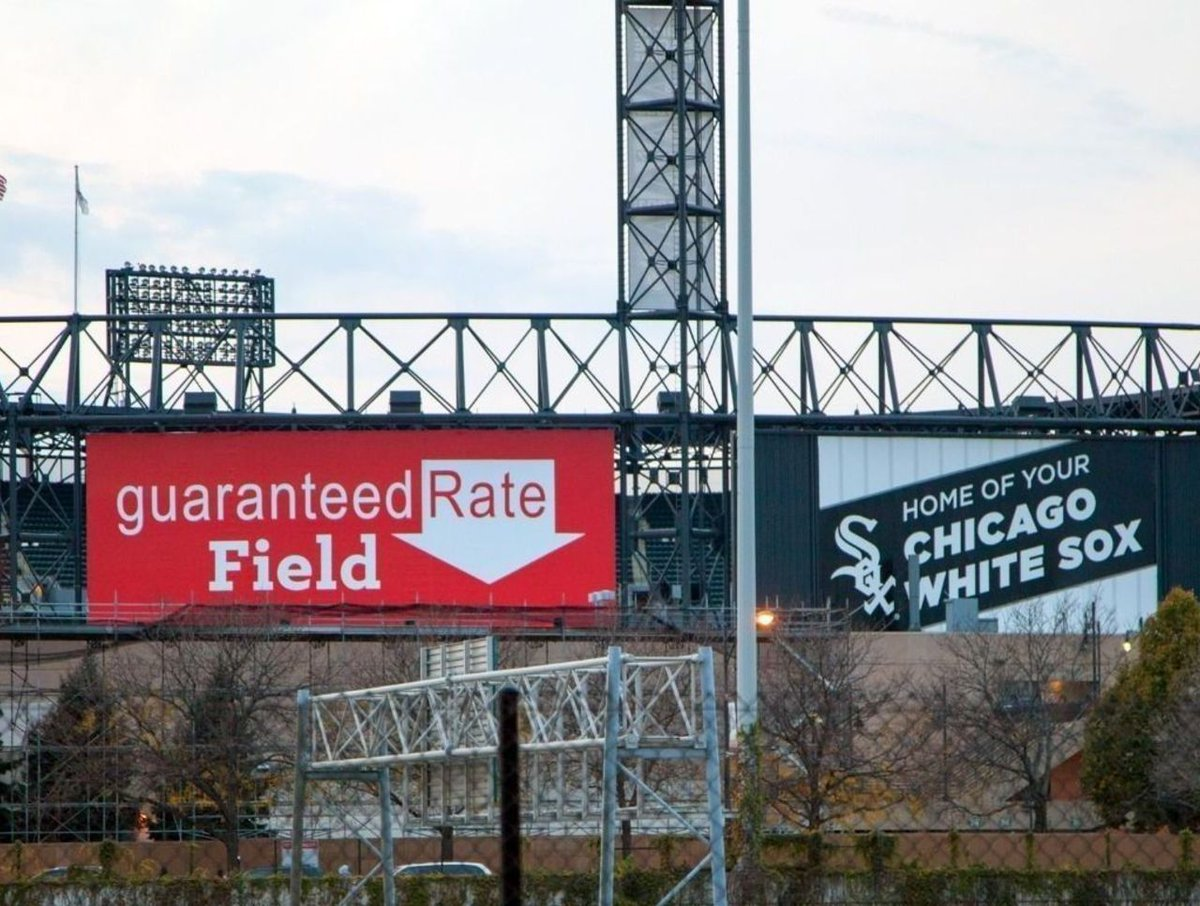 Guaranteed Rate Field, Home of the Chicago White Sox
