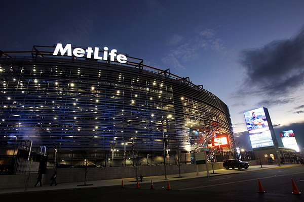 Metlife Stadium, Home of the New York Giants and Jets