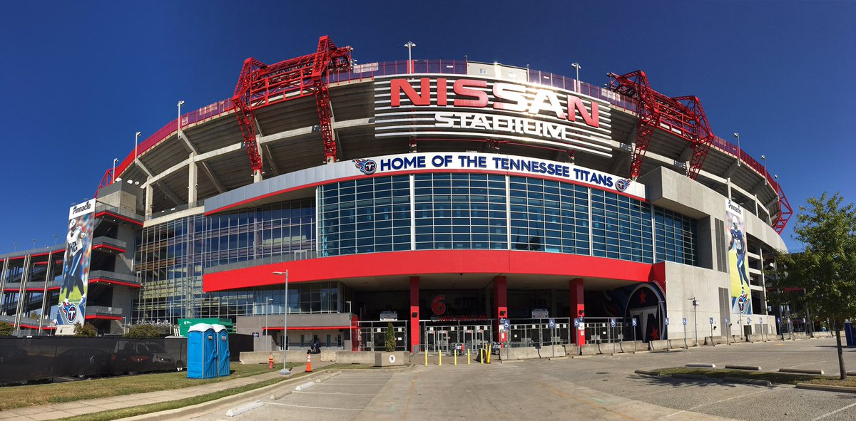 Nissan Stadium, Home of the Tennessee Titans