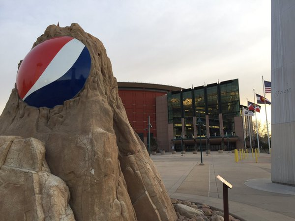 The Pepsi Center, Home of the Denver Nuggets