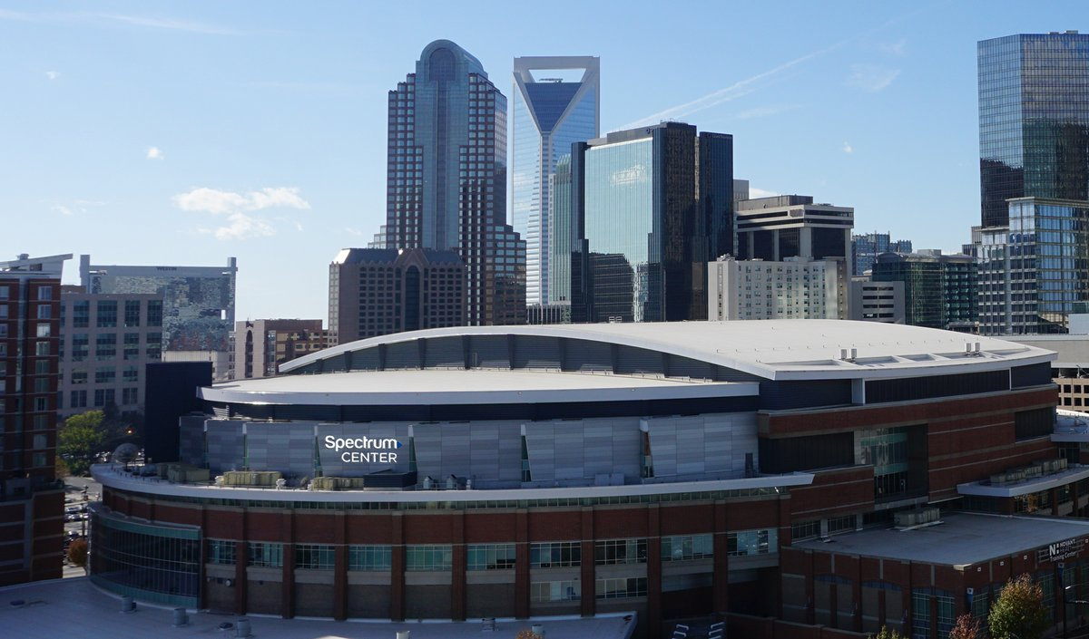 The Spectrum Center, Home of the Charlotte Hornets