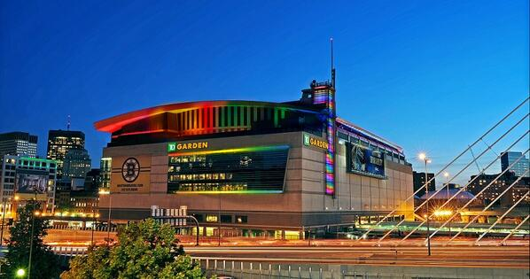 TD Banknorth Garden, Home of the Boston Celtics