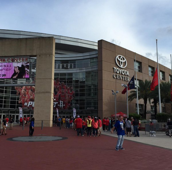 The Toyota Center, Home of the Houston Rockets