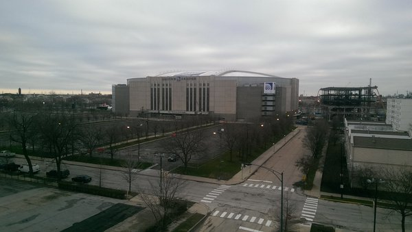 The United Center, Home of the Chicago Bulls