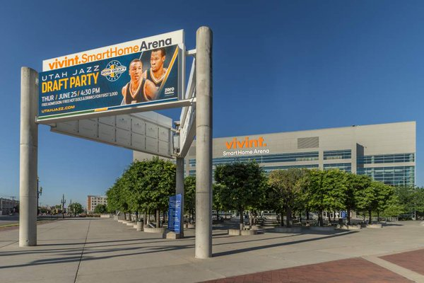 Vivint Smart Home Arena, Home of the Utah Jazz