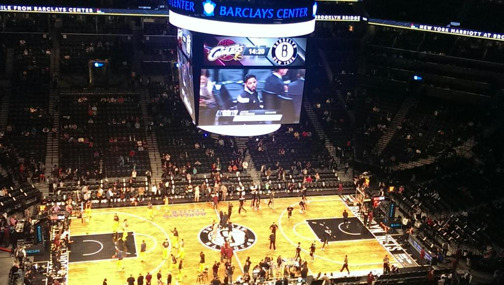 Seat view from Section 209 at the Barclays Center, home of the Brooklyn Nets