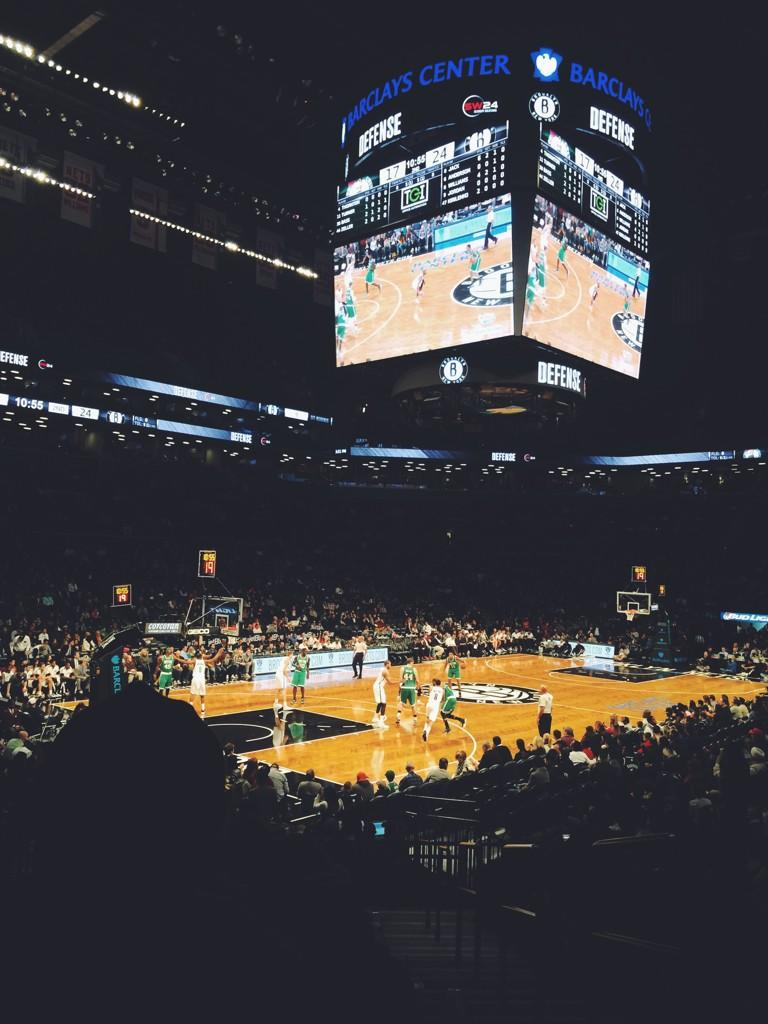 Seat view from Section 29 at the Barclays Center, home of the Brooklyn Nets