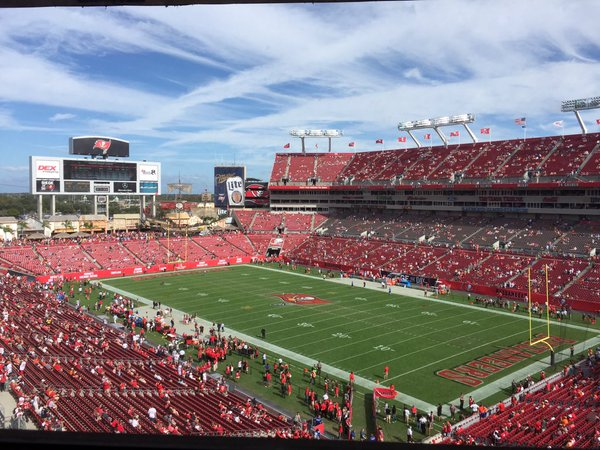 Raymond James Stadium, Home of the Tampa Bay Buccaneers