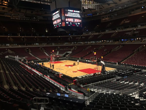 United Center, Home of the Chicago Bulls