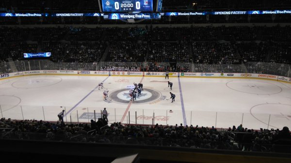 MTS Centre, Home of the Winnipeg Jets
