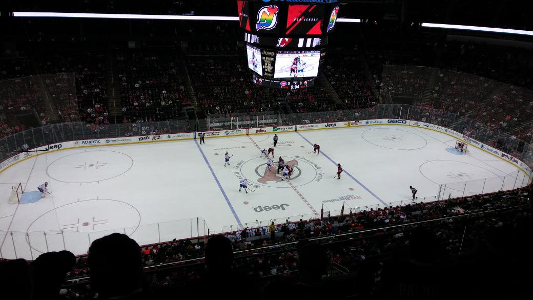 The Prudential Center, Home of the New Jersey Devils