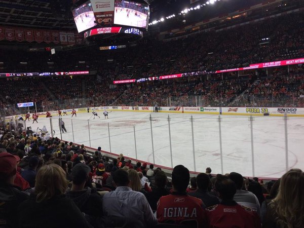 Scotiabank Saddledome, Home of the Calgary Flames