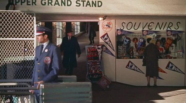 Photo of the Yankee Stadium concourse during the 1960's.  Gate is unknown.