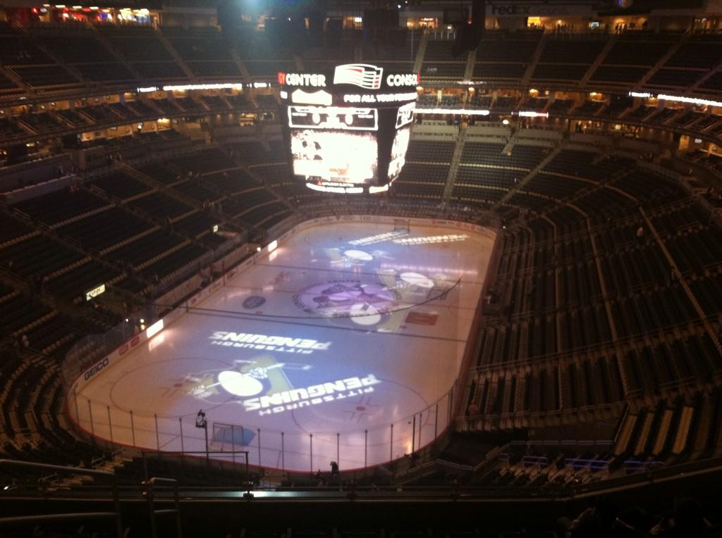 Seat view from section 226 at PPG Paints Arena, home of the Pittsburgh Penguins