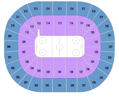 SAP Center at San Jose Seating Chart, San Jose Sharks.