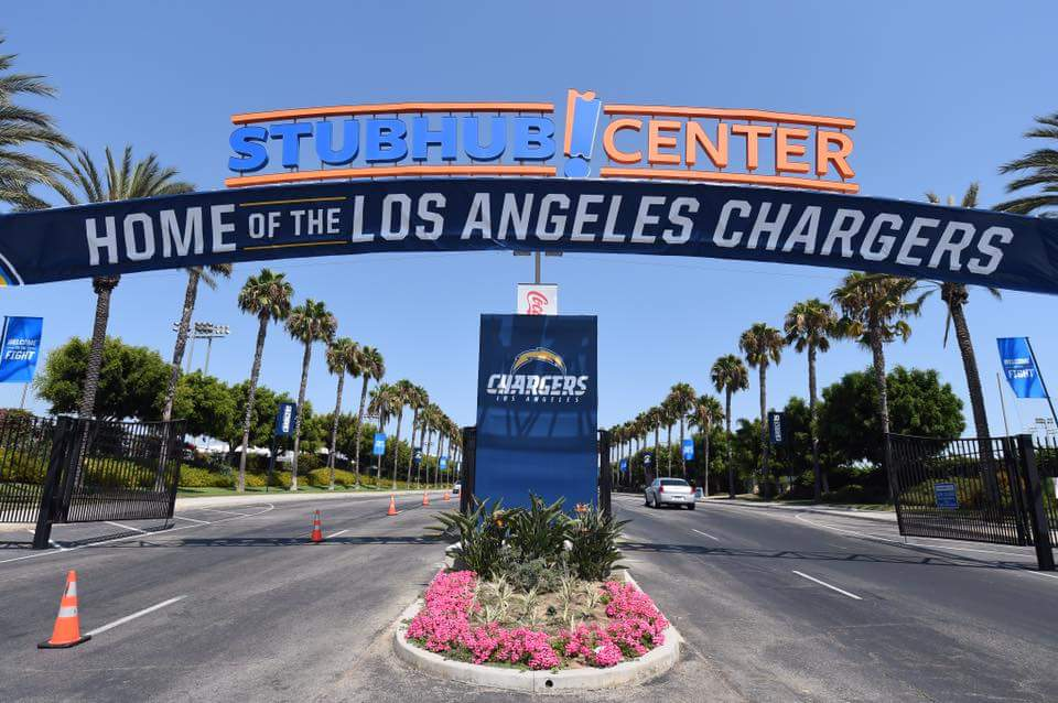 Stubhub Center Main Entrance in Carson, California