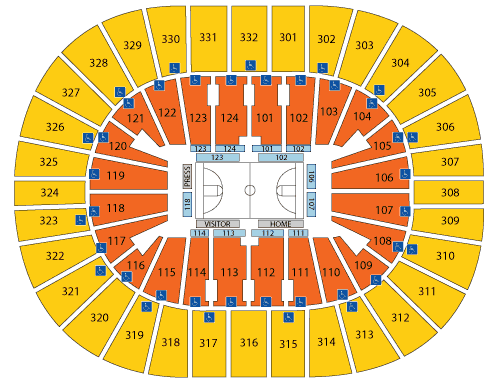 Smoothie King Center Seating Chart, New Orleans Pelicans