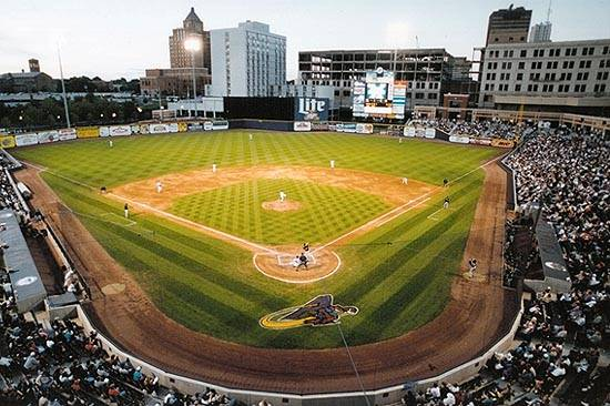 Canal Park, Home of the Akron Rubberducks.