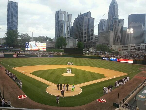 BB&T Ballpark, Home of the Charlotte Knights