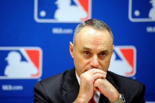Photo of MLB Commissioner Rob Manfred.