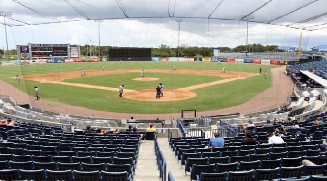 George M. Steinbrenner Field, Home of the Tampa Yankees
