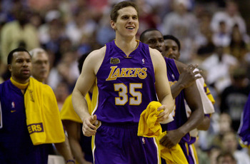 Former NBA player Mark Madsen.