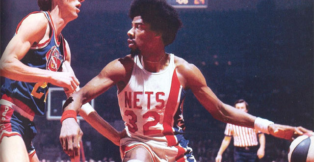 Photo of Julius Erving, New Jersey Nets