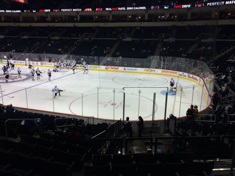 Seat view from section 116 at Bell MTS Place, home of the Winnipeg Jets