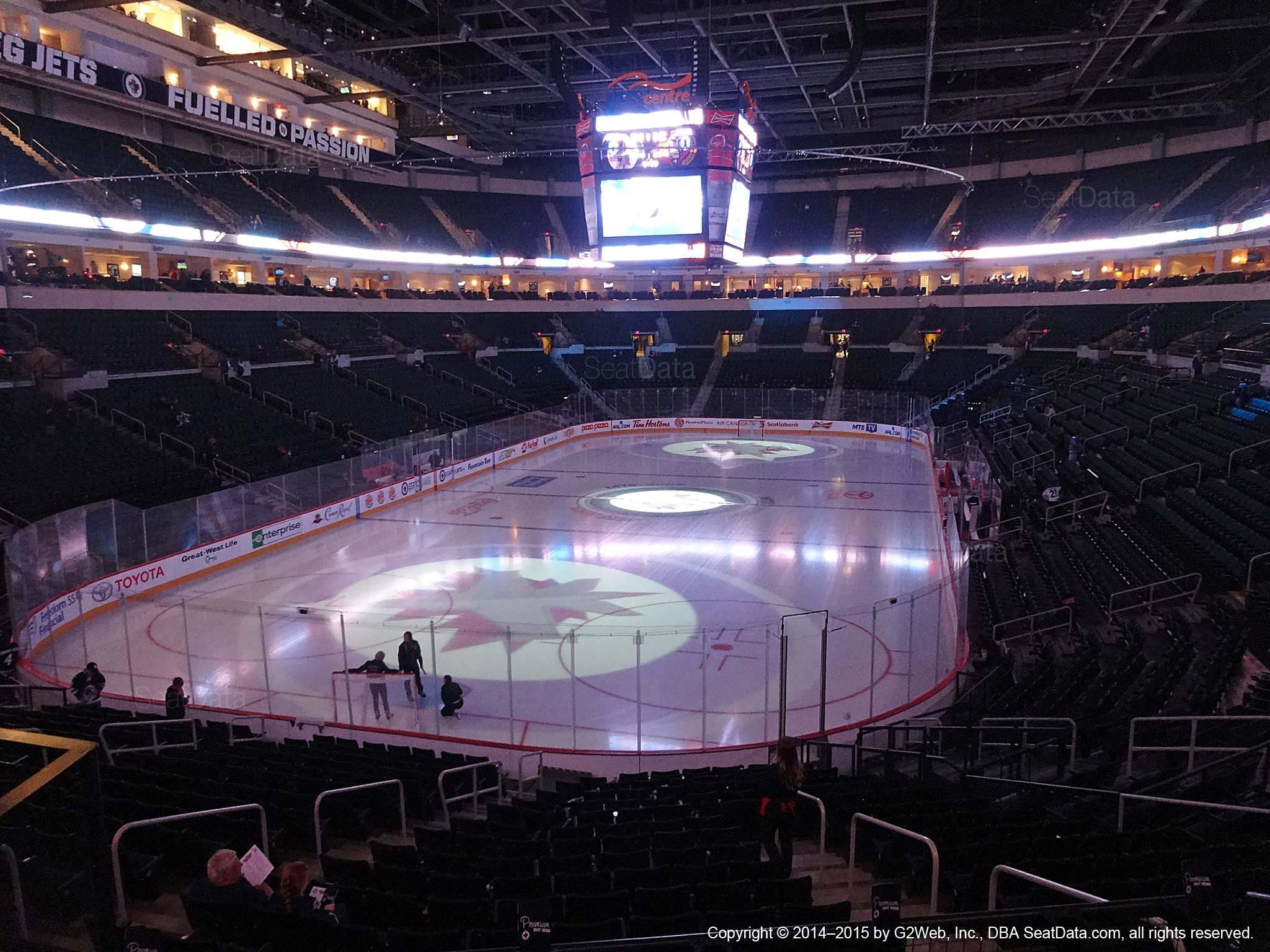 Seat view from section 224 at Bell MTS Place, home of the Winnipeg Jets