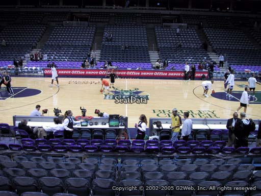 Seat view from section 200 at the Bradley Center, home of the Milwaukee Bucks