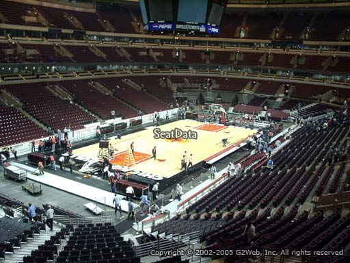 Seat view from section 205 at the United Center, home of the Chicago Bulls