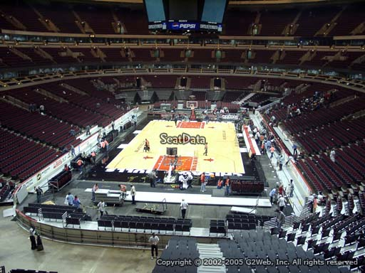 Seat view from section 208 at the United Center, home of the Chicago Bulls