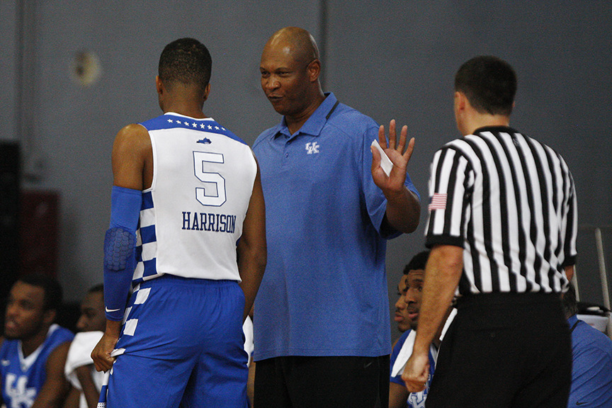 University of Kentucky assistant coach Kenny Payne