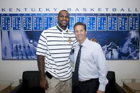 Lebron James with John Calipari