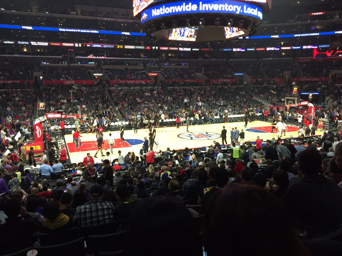 Staples Center, Home of the Los Angeles Clippers