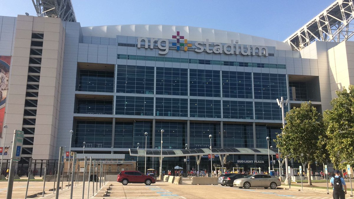 Exterior photo of NRG Stadium. Home of the Houston Texans.