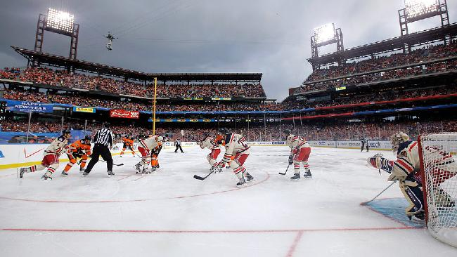 Citizens Bank Park - 2012 NHL Winter Classic