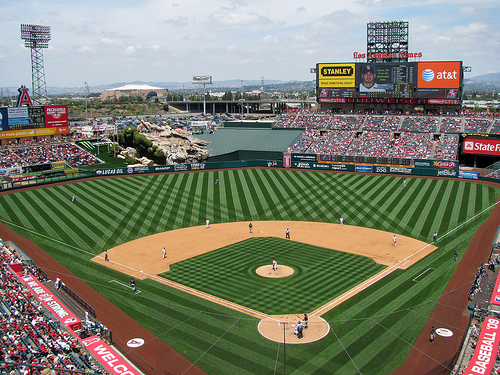 Angel Stadium of Anaheim, Los Angeles Angels of Anaheim