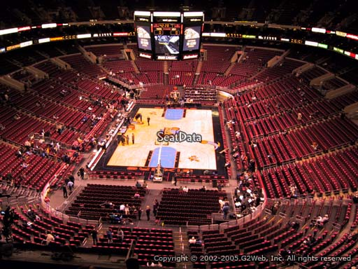 Seat view from section 207A at the Wells Fargo Center, home of the Philadelphia 76ers