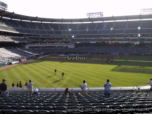 Seat view from section 237 at Angel Stadium of Anaheim, home of the Los Angeles Angels of Anaheim