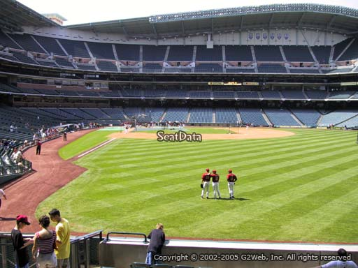 Seat view from section 152 at Minute Maid Park, home of the Houston Astros