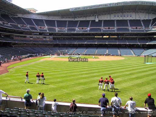 Seat view from section 153 at Minute Maid Park, home of the Houston Astros