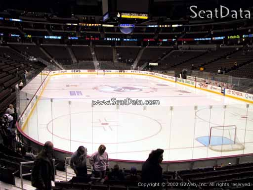 Seat view from section 116 at the Pepsi Center, home of the Colorado Avalanche