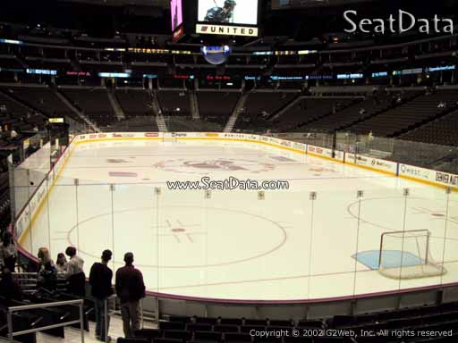 Seat view from section 140 at the Pepsi Center, home of the Colorado Avalanche