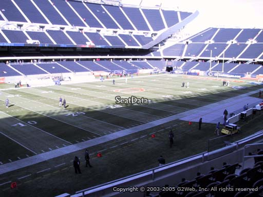 Seat view from section 214 at Soldier Field, home of the Chicago Bears