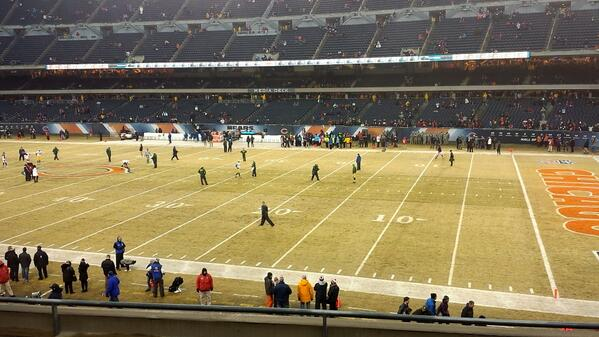 View from the United Club at Soldier Field