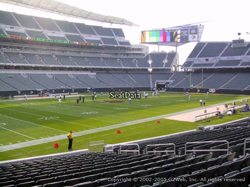 Seat view from section 146 at Paul Brown Stadium, home of the Cincinnati Bengals