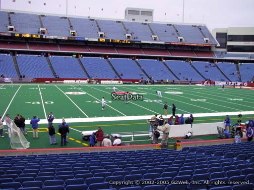 Seat view from section 135 at New Era Field, home of the Buffalo Bills