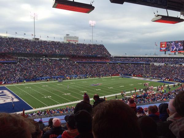 Seat view from section 215 at New Era Field, home of the Buffalo Bills