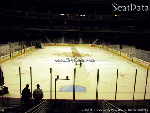 Seat view from section 117 at the United Center, home of the Chicago Blackhawks